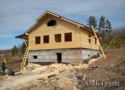 Наши выполненные работы: дома из бруса