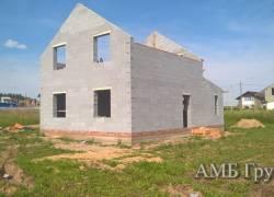 Наши выполненные работы: дома из блока