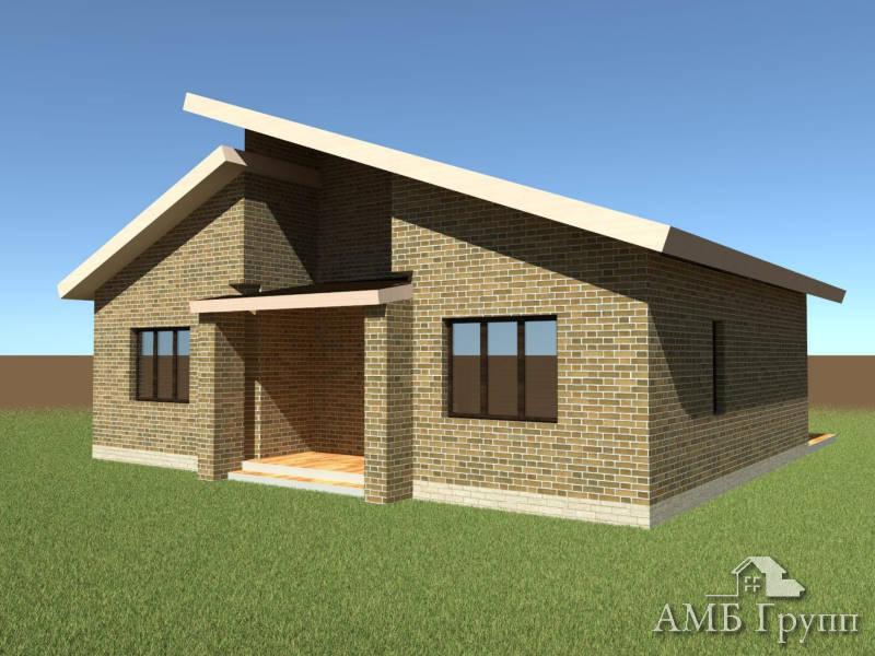 Дома из газобетона под ключ | АМБ-групп